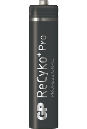 GP 2'li ReCyko Pro 850 Serisi NiMH AAA İnce Kalem Boy Şarjlı Pil(GP85AAAHCBEMTR-2GBE2)