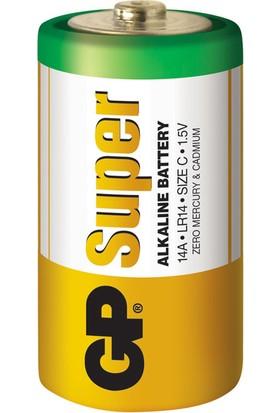GP Super Alkalin 2'li C Boy Orta Pil (GP14A-2U2)