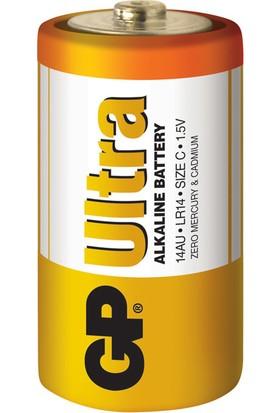 Gp 14Au Lr14 Ultra Alkalin Orta Pil 2K