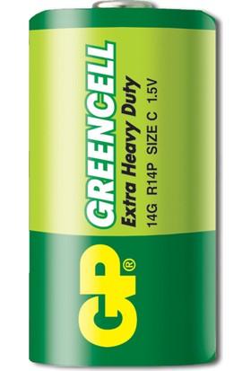 GP 24'lü Greencel C Boy Orta Çinko Karbon Pil (GP14G-2S20)