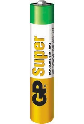 GP 2'li 25A Alkalin AAAA İncenin İncesi Pil (GP25A-U2)