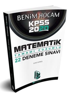 Benim Hocam Yayınları 2020 Kpss Matematik Tamamı Çözümlü 22 Deneme - İlyas Güneş