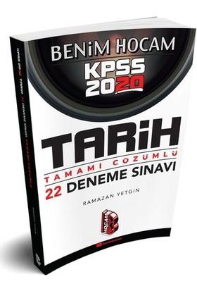 Benim Hocam Yayınları 2020 Kpss Tarih Tamamı Çözümlü 22 Deneme - Ramazan Yetgin