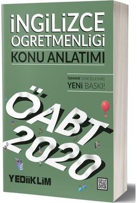 Yediiklim Yayınları 2020 KPSS ÖABT İngilizce Öğretmenliği Konu Anlatımı