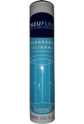 Neuflex Sızdırmaz Duşakabin Silikonu Şeffaf