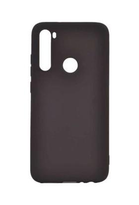 Pendu Xiaomi Redmi Note 8 Mat Siyah Silikon Kılıf