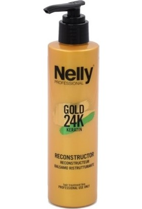 Nelly Professional Gold 24K Keratin Reconstructor 200 ml