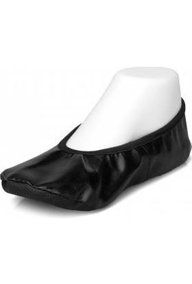 Pisi Pisi Yıl Sonu Gösteri Ayakkabısı Siyah Babet Ayakkabı
