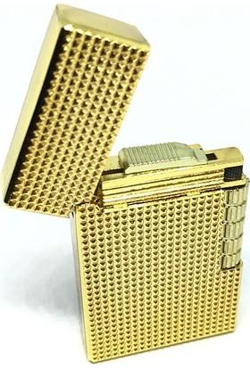 Gamerloot Dupont Model Metal Çakmak Altın Rengi