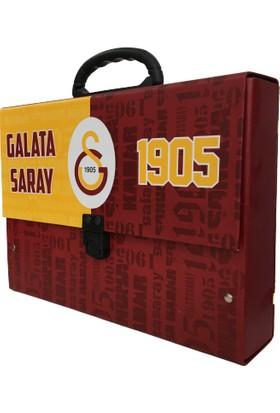 Timon Galatasaray Lisanslı Saplı Okul Klasörü Sarı Kırmızı