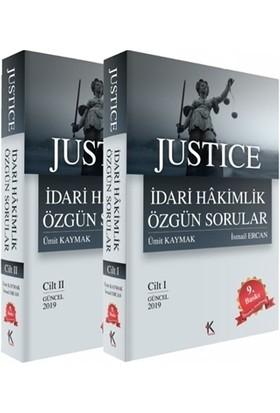 Justice İdari Hakimlik Özgün Sorular (2 Cilt Takım)