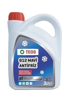 Teos G12 -40C Antifiriz Mavi 3 lt