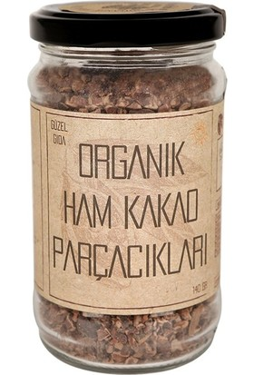 Güzel Ada Gıda Organik Kakao Parçacıkları 140 gr