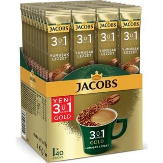Jacobs 3ü1 Arada Gold Yumuşak Lezzet 40LI
