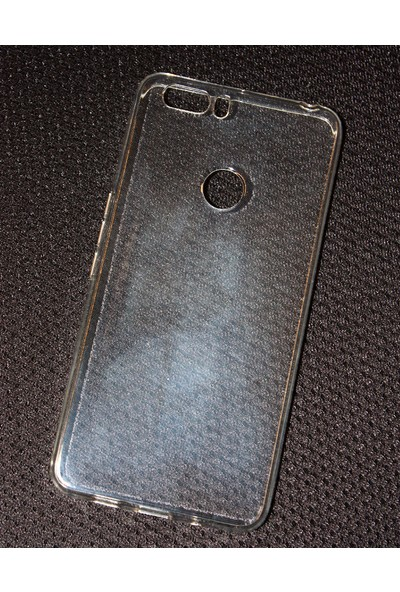 Case 4U Vestel Venüs Z20 Kılıf Süper Silikon Şeffaf Arka Kapak