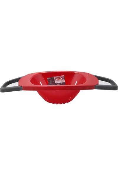 Qlux Ayarlı Süzgeç Ayaklı Süzgeç L-675 Kırmızı