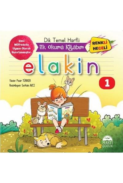 Dik Temel Harfli Ilk Okuma Kitabım - Elakin - 10 Kitap Takım