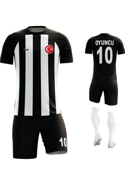 Acr Giyim - Çizgili - Kişiye Özel Futbol Forması Takımı
