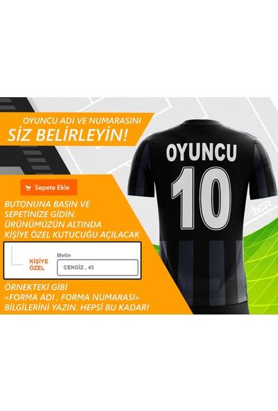 Acr Giyim - Siyah Beyaz 19 - Kişiye Özel Futbol Forması Takımı