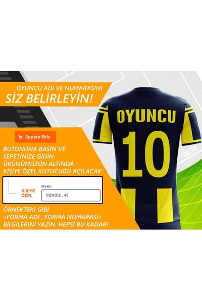 Acr Giyim - Sarı Lacivert 19 - Kişiye Özel Futbol Forması Takımı