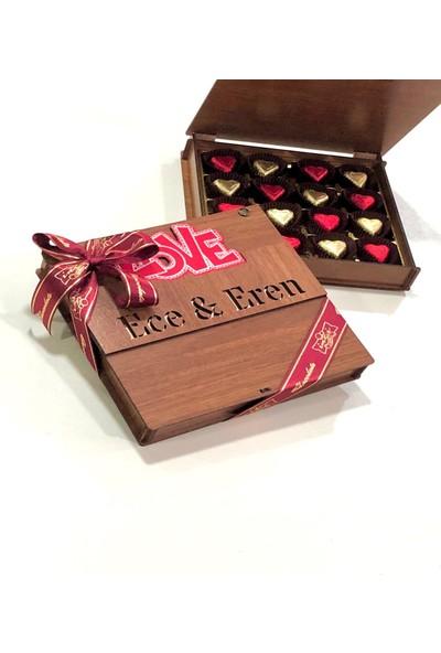 İnci Çikolata Kişiye Özel Love Chocolate