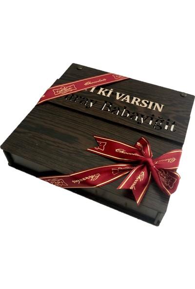 İnci Çikolata Kişiye Özel Iyi Ki Varsın Çikolatası 500 gr