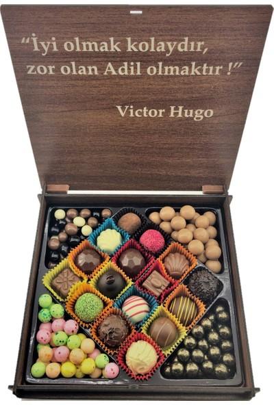 İnci Çikolata Kişiye Özel Avukat Çikolatası 250 gr