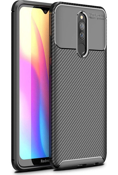 Microsonic Xiaomi Redmi 8 Legion Series Kılıf - Siyah