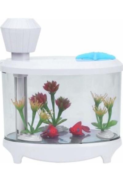İyitechUltrasonik Akvaryum Model Mini Buhar Makinesi Bebek Odası Nemlendirici