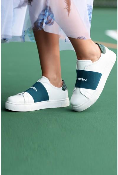 Pegia Recreation Deri Kadın Sneaker 19REC101