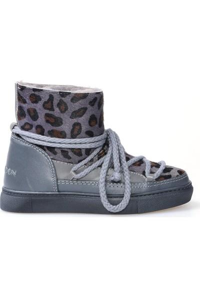 Cool Moon Deri İçi Kürklü Kadın Sneaker 355002