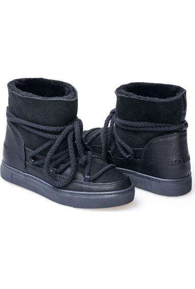 Cool Moon Kürk Bağcıklı Kadın Sneaker 355029