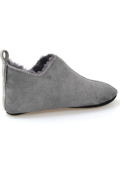 Pegia Hakiki Kürk Kadın Ev Ayakkabısı 980445