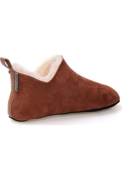 Pegia Hakiki Kürk Kadın Ev Ayakkabısı 980451