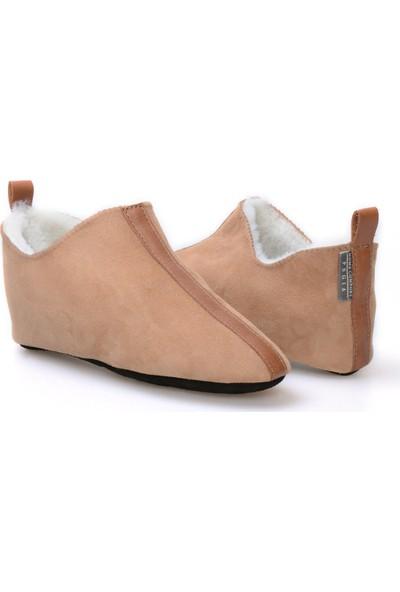Pegia Kürk Desenli Kadın Ev Ayakkabısı 980473