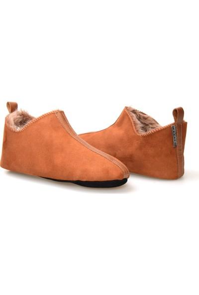 Pegia Hakiki Kürk Kadın Ev Ayakkabısı 980478