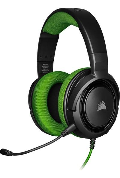 Corsair HS35 Stereo Yeşil Oyuncu Kulaklık-CA-9011197-EU