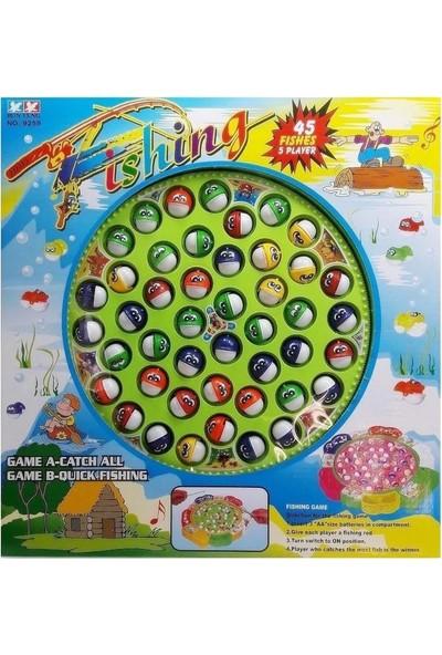 Pilli Balık Tutma ve Yakalama Oyunu Seti Müzkli