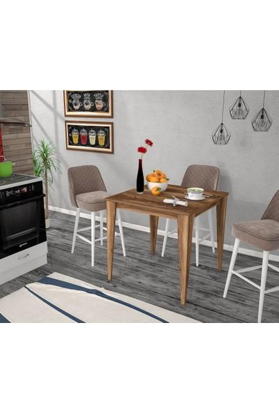 Rafline Baha Concept Yemek Masası 80 X 80 cm