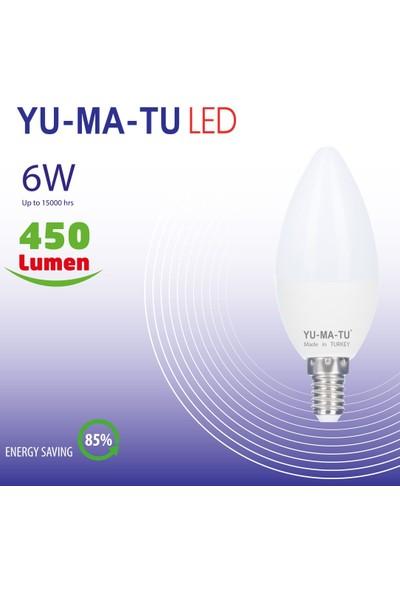 Yumatu 6 W E14 LED Ampul 15'li