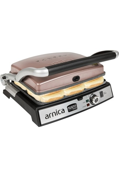 Arnica Tostit Maxi Granit Rose 2000 W Tost Makinesi
