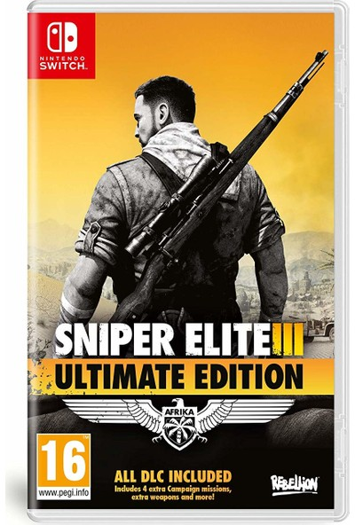 Sniper Elite 3 Ultimate Edition Nintendo Switch Oyun
