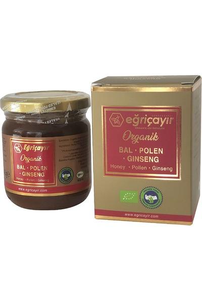 Organik Bal Polen Ginseng Karışım 240 gr