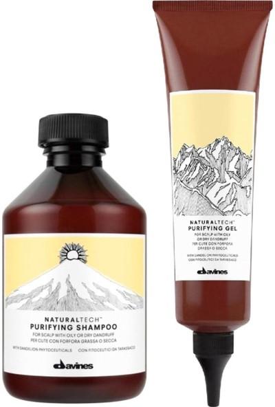 Davines Purifying Şampuan 250 ml + Jel 150 ml