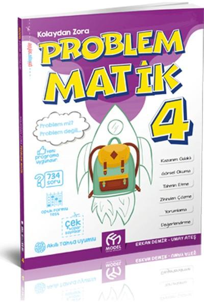 Model Eğitim Yayınları 4. Sınıf Problematik Kolaydan Zora