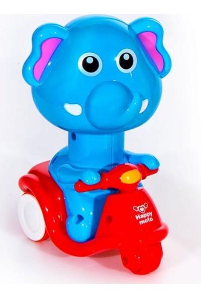 Can Ali Toys Hayvan Figürlü Kırılmaz Oyuncak