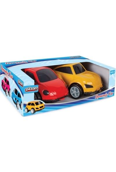 Pilsan Dinamik Oyuncak Araba 2'li