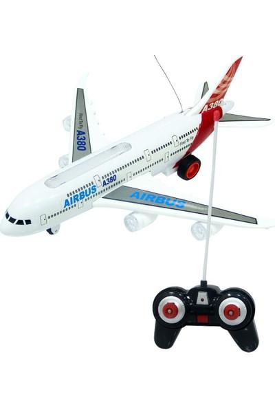 Canem Oyuncak Uzaktan Kumandalı A380 Uçak