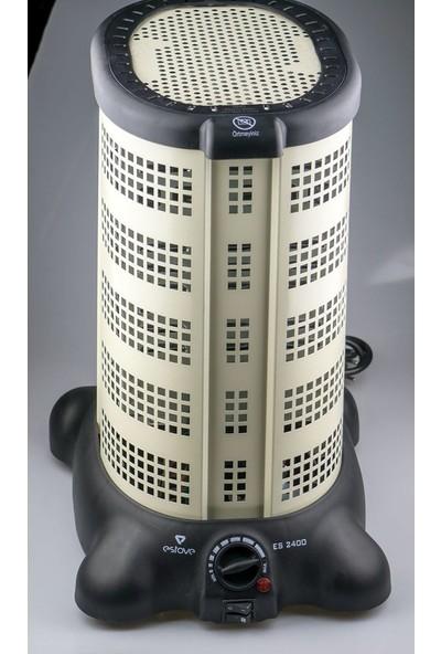 Estove Es 2800 Konveksiyonel Elektrikli Isıtıcı (Krem)