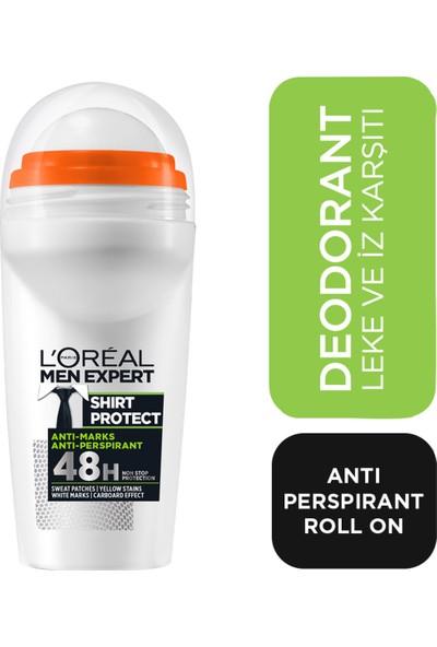 L'Oréal Paris Men Expert Shırt Protect Antı Perspırant Roll On 50ml